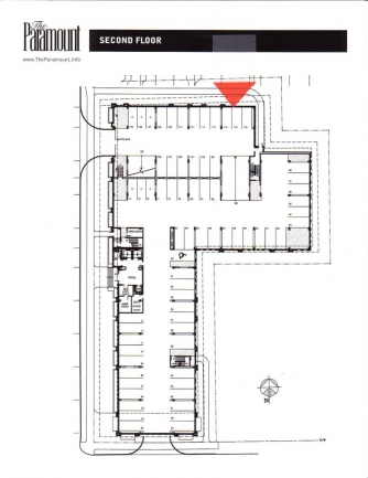 The Paramount - 2nd Floor Plan